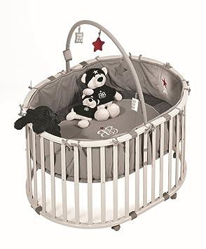 """roba 0210 Rs1 - Box per Bambini """"Rock Star Baby"""" con Archetto Giochi"""