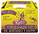 Mozzarella and Ricotta Cheese Making Kit by New England Cheesemaking Supply Company, Inc