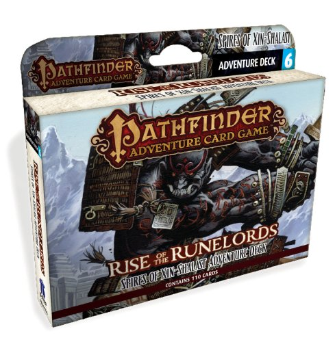 Pathfinder Adventure Card Game: Rise of the Runelords Deck 6 - Spires of Xin-Shalast Adventure Deck (Pathfinder Adventur