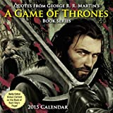 Andrews McMeel Publishing Quotes from George R.R. Martin's A Game of Thrones Book Series 2015 Day-to-Day Box Calendar