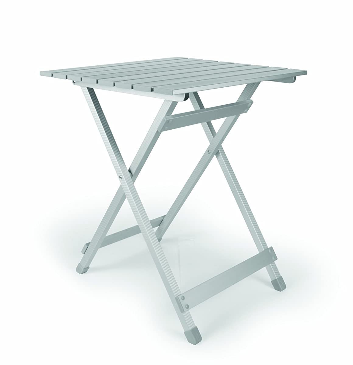 Camco 51891 Aluminum Fold-Away Side Table - Large