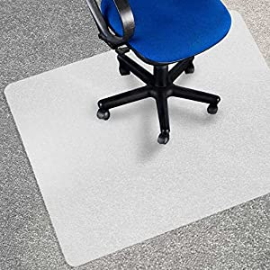 Office Marshal® Eco Office Chair Mat, Multiple Sizes - Carpet Floor Protection - BPA Free | Opaque