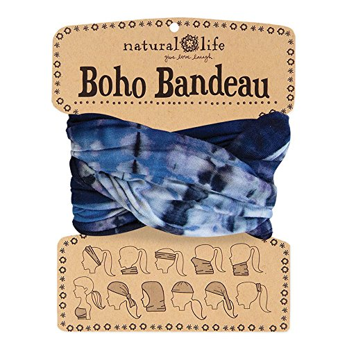 Natural Life Boho Bandeau Navy Tie-Dye (Tie Dye Jeans compare prices)
