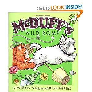 McDuff's Wild Romp (McDuff Stories) Rosemary Wells and Susan Jeffers