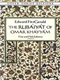 Image of The Rubáiyát of Omar Khayyám: First and Fifth Editions (Dover Thrift Editions)