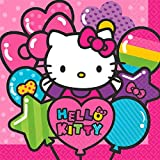 Luncheon Napkins   Hello Kitty Rainbow Collection   Party Accessory (Color: Multicolor, Tamaño: 6