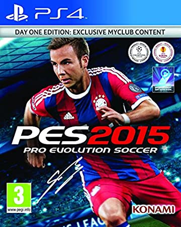 PES 2015 Day 1 Edition (PS4)