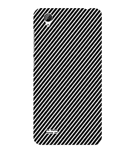 ifasho Design lines pattern Back Case Cover for VIVO Y31L