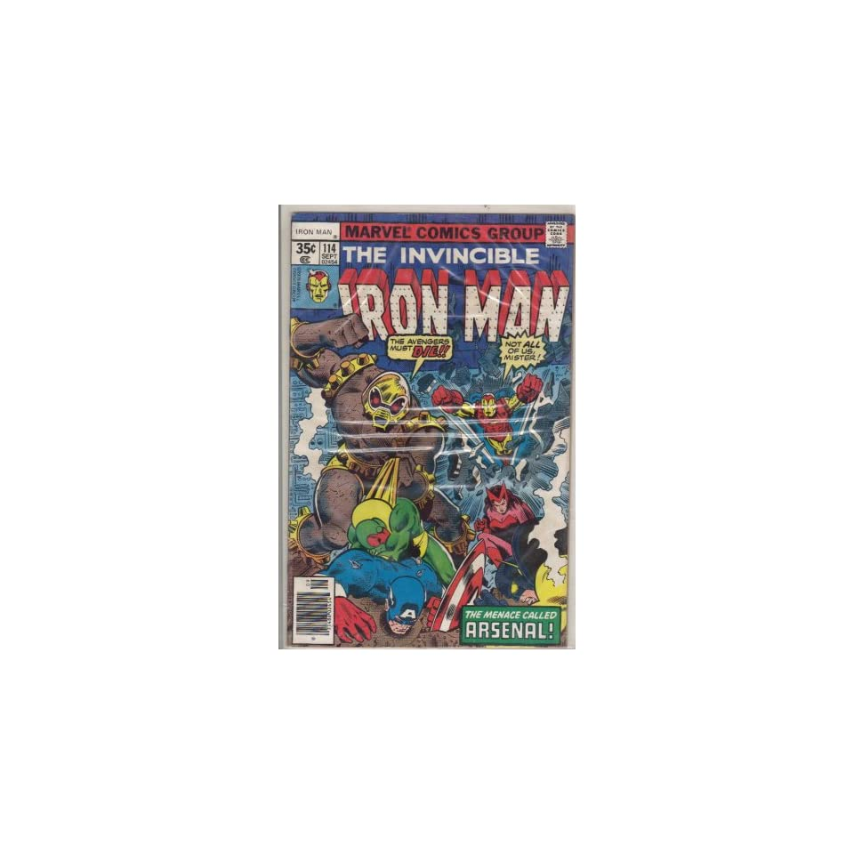 Iron Man #114 Comic Book