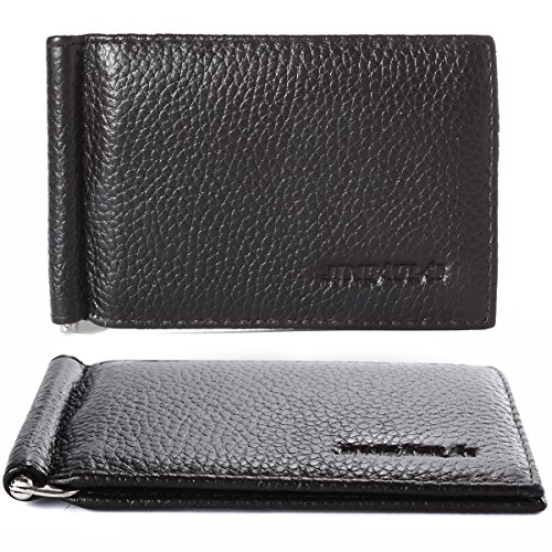 XCSOURCE Ultra Thin Creative Leather Wallet Removable Flip Up Money Clip MT197