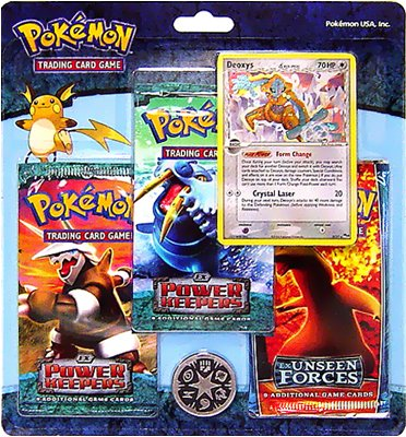Pokemon EX Special Edition Pack 4 With Deoxys Promo Card - Buy Pokemon EX Special Edition Pack 4 With Deoxys Promo Card - Purchase Pokemon EX Special Edition Pack 4 With Deoxys Promo Card (Nintendo, Toys & Games,Categories)
