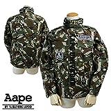 (エーエイプ バイ ア ベイシングエイプ)Aape BY A BATHING APE フライトジャケット ブルゾン AAPE M-65 JACKET M CAMO (並行輸入品)