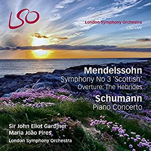 Mendelssohn: Symphony No.3 'Scottish', Overture: The Hebrides; Schumann: Piano Concerto [1 Blu-ray audio/1 Hybrid SACD] by LSO Live