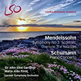 Mendelssohn: Symphony No.3 'Scottish'; Hebrides Overture; Schumann: Piano Concerto (Bonus Blu-Ray audio/video disc)