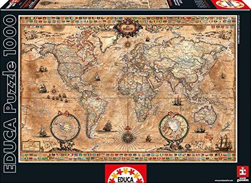 15159 - Puzzle - Historische Weltkarte, 1000-Teilig