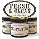 Old Factory Candles FRESH & CLEAN set...