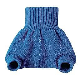 Disana Organic Merino Wool Cover-Blue-98/104 (2-3T)