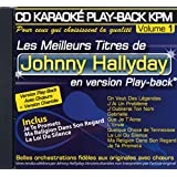"CD KARAOKE PLAY-BACK KPM VOL.01 ""Johnny Hallyday"""