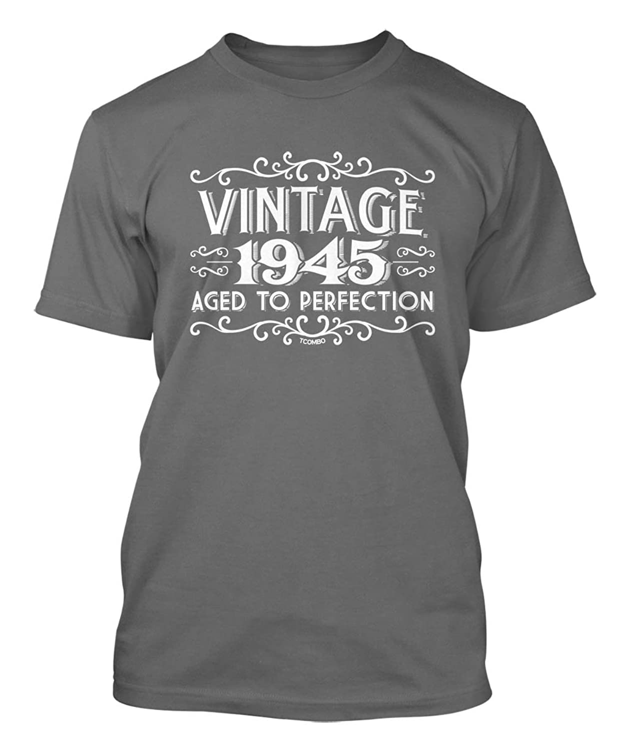 Vintage 1945 Aged To Perfection 70th Birthday Men's T-shirt
