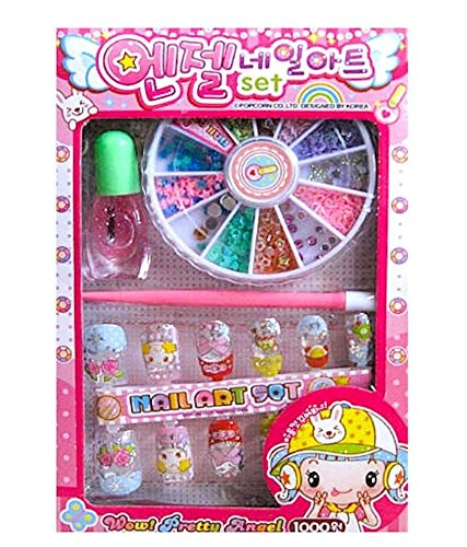 Gifts Online Set Of 12 Nail Art Sets For Girls Aging 4 10