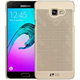DMG Ultra Thin Dotted Protective Highwire Back Cover Case For Samsung Galaxy A5 2016 A510 (Gold)