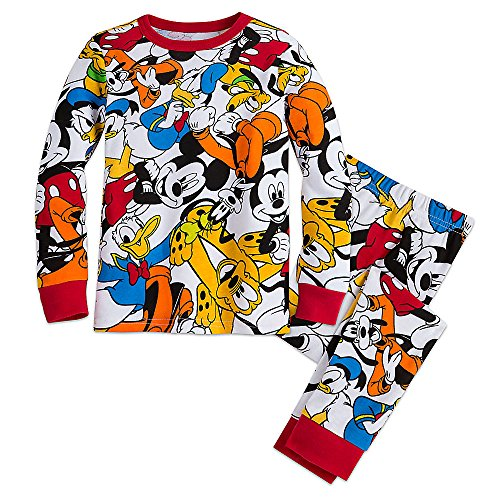 Disney Boys Mickey Mouse and Friends PJ PALS 4 Multi