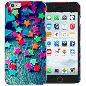 Theskinmantra Colorful stars back cover for Apple iPhone 6 Plus