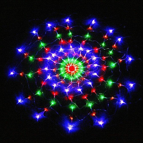 Colorful Rgb Net 120 Led Light For Christmas Party Wedding Us 110V Ships From Ca