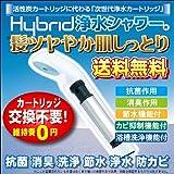 シャワー浄水器 HyBrid浄水シャワー(スタンダード)抗菌 消臭 洗浄 節水 防カビ シャワーヘッド