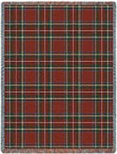 Stewart Royal Plaid Throw - 70 x 53 BlanketThrow