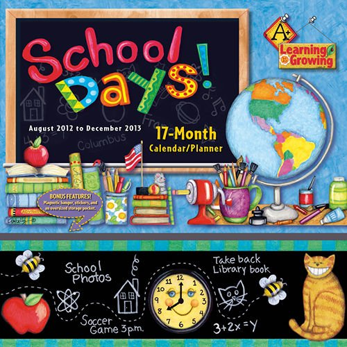 Cheap School Days 2013 Pocket Wall Calendar (B008CNFQ9W)