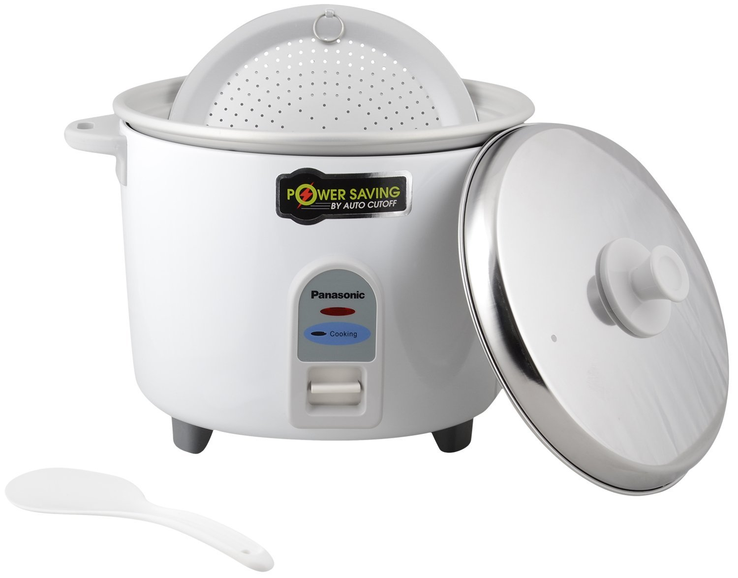 Panasonic SR-WA18-E 4.4-Litre Automatic Rice Cooker (White)