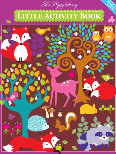 Piggy Story Little Activity Book, Fox & Woodland Animals - 1