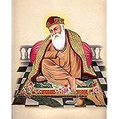 Exotic India Guru Nanak - Water Color Painting On Paper - Artist Kailash Raj