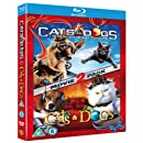 Cats And Dogs 1 and 2 (Blu-ray+DVD) [2010]