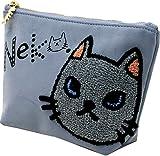 (マルカワジーンズパワージーンズバリュー) Marukawa JEANS POWER JEANS VALUE ポーチ レディース ネコ 猫 キャラクター ネコ刺繍 ユニセックス メンズ 7color