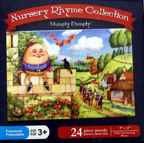 "Nursery Rhyme Collection ""Humpty Dumpty"" 24 Piece Puzzle - 1"