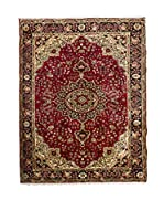 QURAMA Alfombra Persian Tabriz Rojo/Multicolor 305 x 203 cm