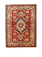 Navaei & Co. Alfombra Kazak Super Rojo/Multicolor 135 x 96 cm