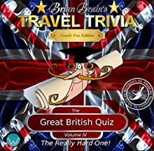 Brian Brain's Great British Quiz Vol IV - The Really Hard One (       UNABRIDGED) by David Deighton-Haywood Narrated by Brian Brain