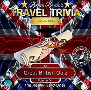 Brian Brain's Great British Quiz Vol IV - The Really Hard One Audiobook