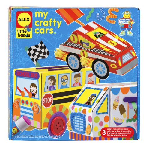 ALEX Toys Little Hands My Crafty Cars - 1