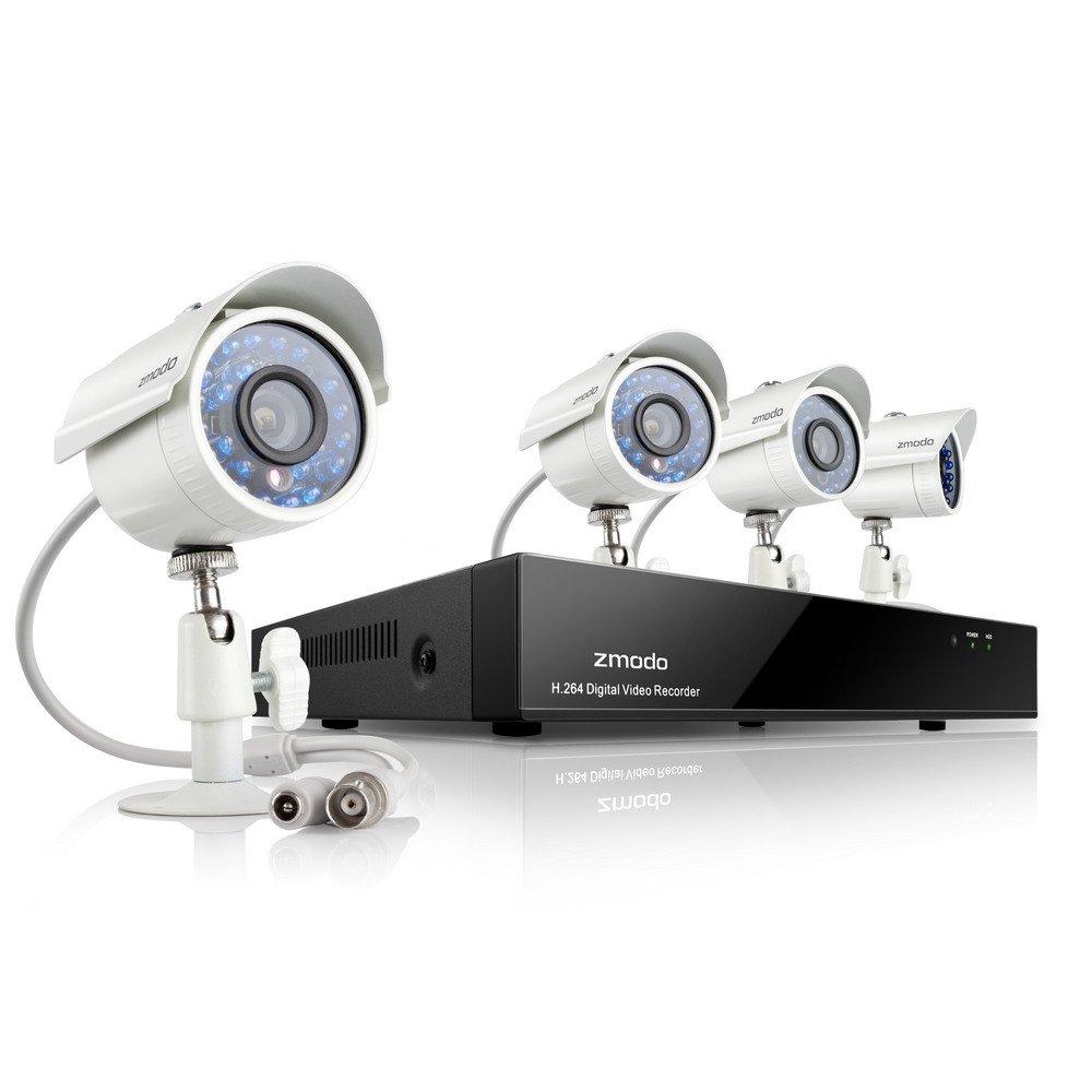 Zmodo Komplettsystem Überwachung (8KanalDVR, 700TVL) mit wetterfester , ZMDKHA8YARUZ4ZP  BaumarktBewertungen