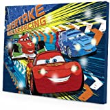 Disney Cars 2 LED Canvas Wall Art, 15.75-Inch x 11.5-Inch