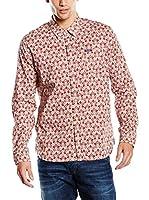 Pepe Jeans London Camisa Hombre Brandon (Rojo)