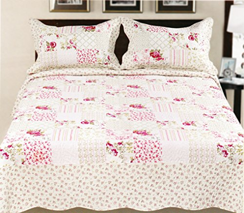 King Size Bedspreads 4857 back
