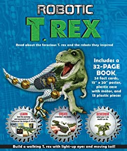 Robotic T. Rex by Silver Dolphin Books