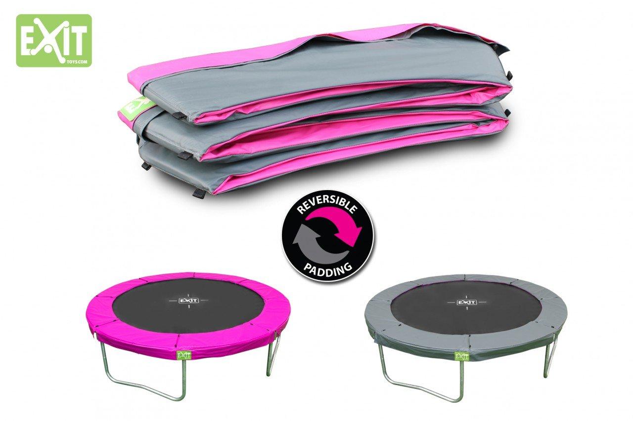 EXIT Twist Schutzrand 14ft / passender Abdeckrand – Zubehör für EXIT Twist Trampolin Ø 427 cm / Farbe: rosa/grau / Lieferung OHNE Trampolin online kaufen