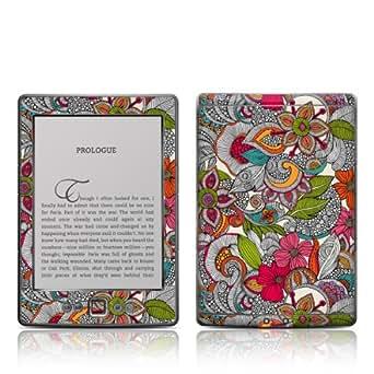 Decalgirl Doodle Color- Skin para Kindle diseño floral [sólo sirve para Kindle (5ª generación)]