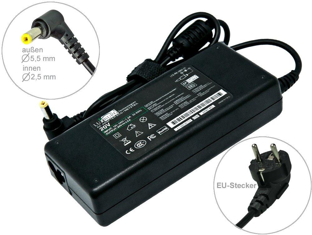 Luxburg® 90W Notebook adaptador cargador compatible con Fujitsu Siemens Amilo Pi-2530 Pi-2540 Pi-2550 Pi-3540 Pi1556 Pi1557 Pi2530 Pi2540 Pi2550 Pi3540.  Electrónica revisión y descripción más